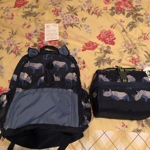 Pottery Barn Kids new backpack and lunchbox